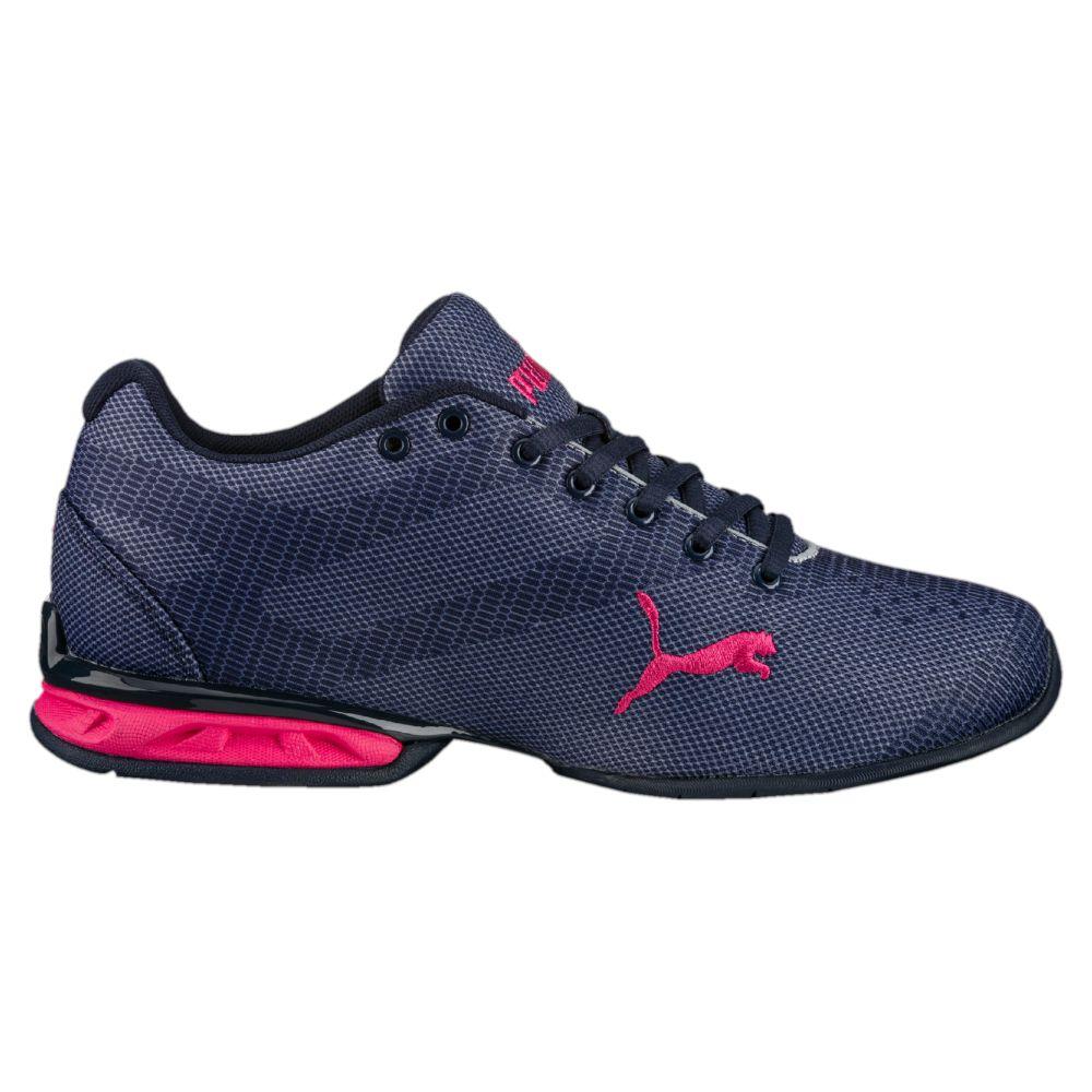Zapato de Cross-Trainer de Tazon 6 Accent Wn para mujeres, Quarry-Puma White-Aruba Blue, 8 M US
