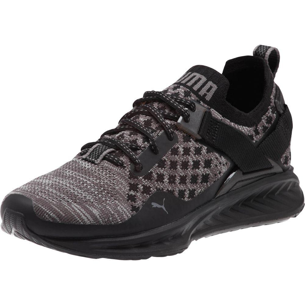 Zapatillas de deporte Ignite Evoknit Wn para mujer, Puma Black-Quiet Shade-Puma White, 8.5 M US