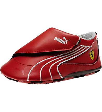 Ferrari Drift Cat 4 Leather Crib Shoes