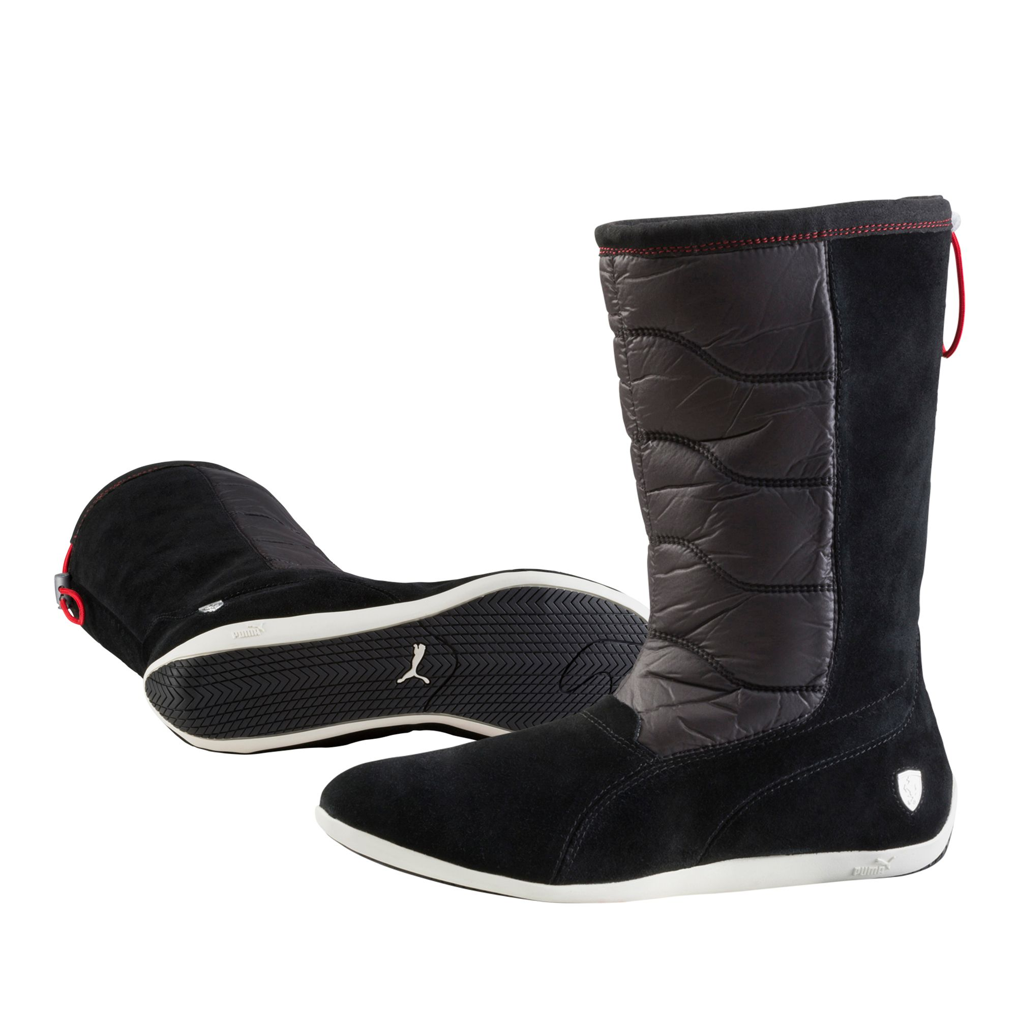 puma ferrari femoto overlap winterstiefel schuhe. Black Bedroom Furniture Sets. Home Design Ideas