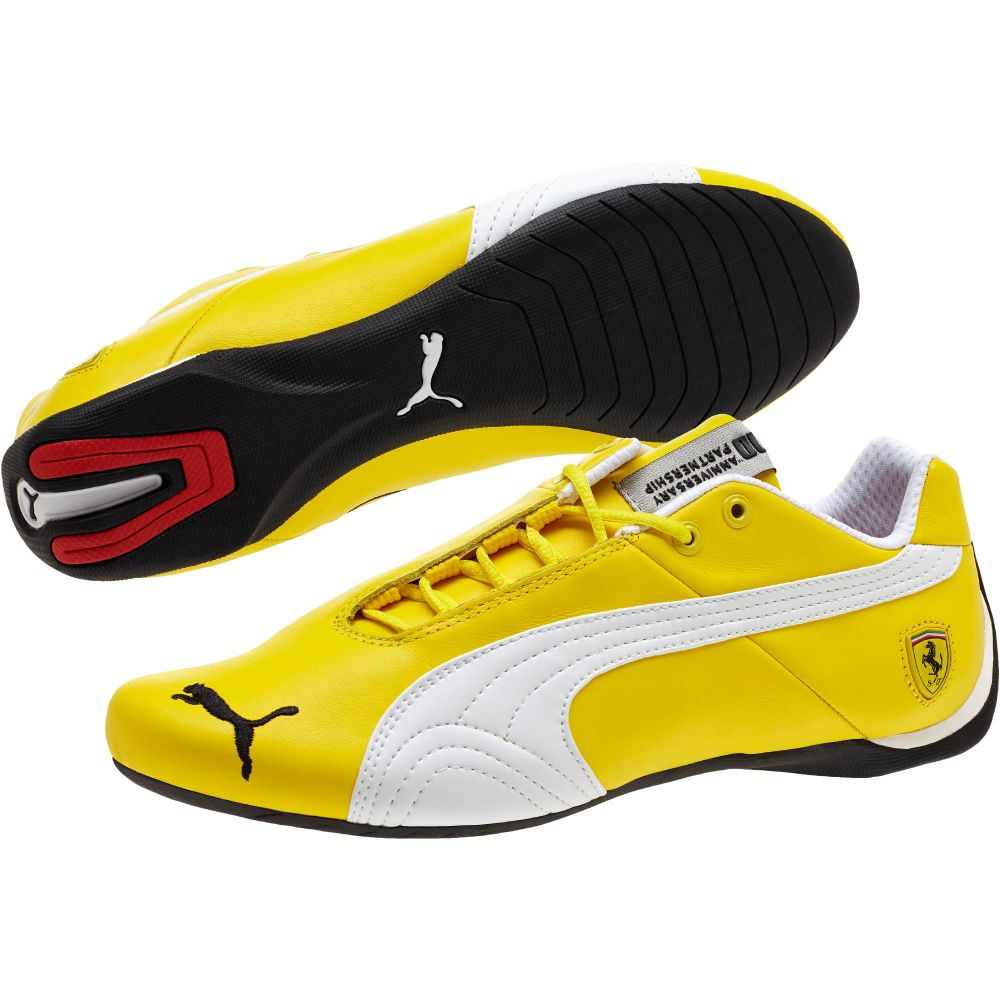 Puma Yellow Ferrari Shoes