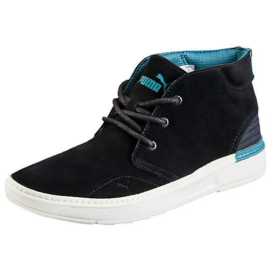 Кроссовки MTSP Boot Demi WmnsКроссовки и кеды<br>Кроссовки MTSP Boot Demi WmnsСочетающие в себе практичность и стильный внешний вид, кроссовки MTSP Boot Demi Wmns разработаны для ведущих активный образ жизни женщин. Верхняя часть обуви выполнена из кожи, благодаря чему она легко принимает форму стопы, обеспечивая максимальный комфорт во время носки. Язычок кроссовок оформлен названием бренда и логотипом PUMA Cat.Сезон: осень-зима 2015 годаПромежуточная подошва из материала EVA прекрасно поглощает ударыФункциональная шнуровка позволяет регулировать степень прилегания обуви к ногеНизкопрофильная резиновая подошва способствует плавности и естественности движений<br><br>color: черный<br>size RU: 37.5<br>gender: Female