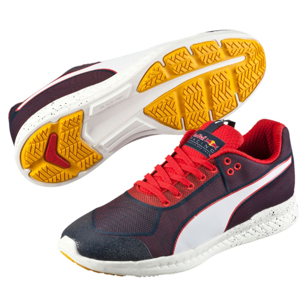 Red Puma Racing Shoes