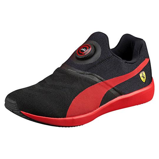 Кроссовки Disc SFКроссовки и кеды<br>Кроссовки Disc SF<br>Революционная технология Disc Closure System, впервые представленная в девяностых годах, служит фундаментом для разработки обуви PUMA и в наши дни. В 2016 году PUMA DISC получила новый дизайн, превратившись в более эстетичную и удобную систему фиксации. Яркая символика Scuderia Ferrari и застежка DISC SF помогут вам выделиться из толпы. Чувствуйте себя комфортно и на пробежке, и на отдыхе.<br><br>Коллекция: Осень-зима 2016<br>Материал верха: Текстиль<br>Материал подошвы: Резина<br>Технологии: Disc Closure System<br>Легкая промежуточная подошва EVA<br>Страна-производитель: Тайвань<br><br><br>size RU: 42<br>gender: Male
