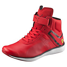 Ferrari F116 Skin Mid Men's High Tops