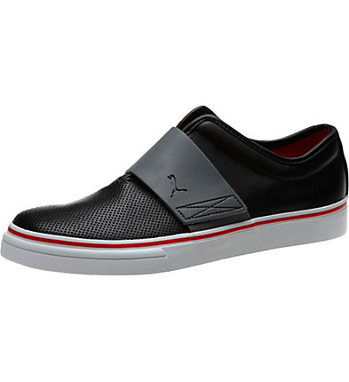 El Rey Cross Perf Leather Men's Slip-On Shoes