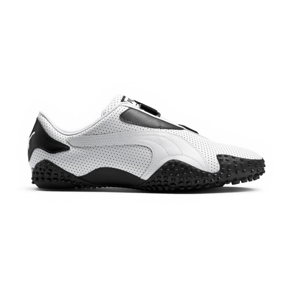 Puma Mostro Perf Leather Shoes Ebay