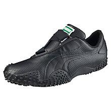 Chaussure Mostro en cuir perforé