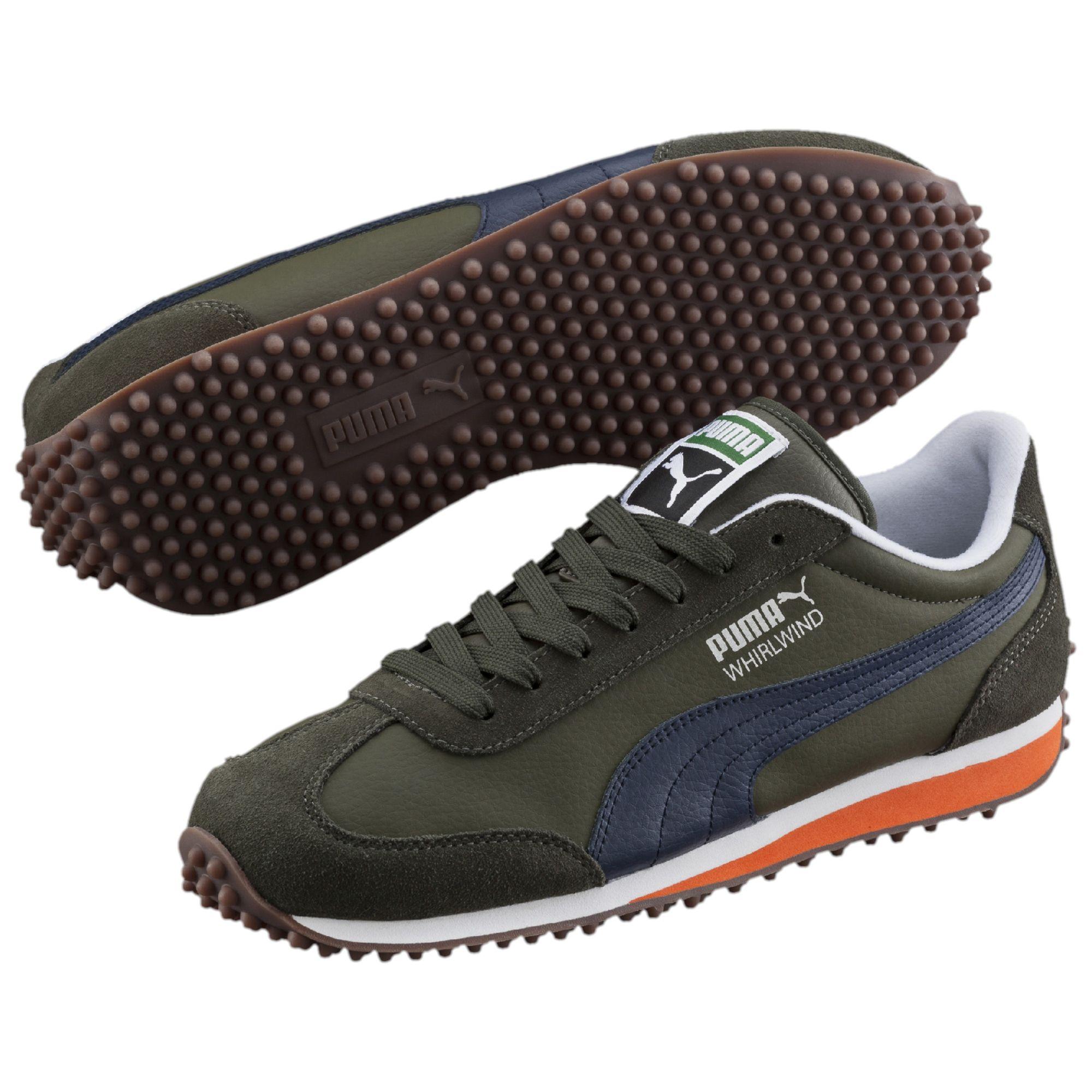 puma whirlwind leder sneaker schuhe sneakers sportschuhe. Black Bedroom Furniture Sets. Home Design Ideas