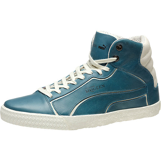 Alexander McQueen Street Climb II Leather Mid Men's Shoes