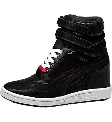 Sky Wedge Reptile Women's Sneakers