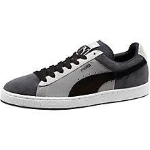 Suede Stripes & Blocks Men's Sneakers