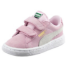 Suede 2 Straps Kids' Trainers