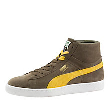 Suede classic+ high tops.