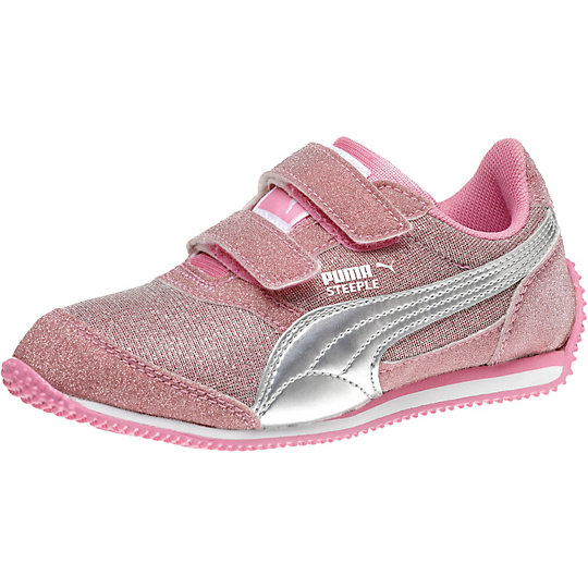 Steeple Glitter Kids Sneakers