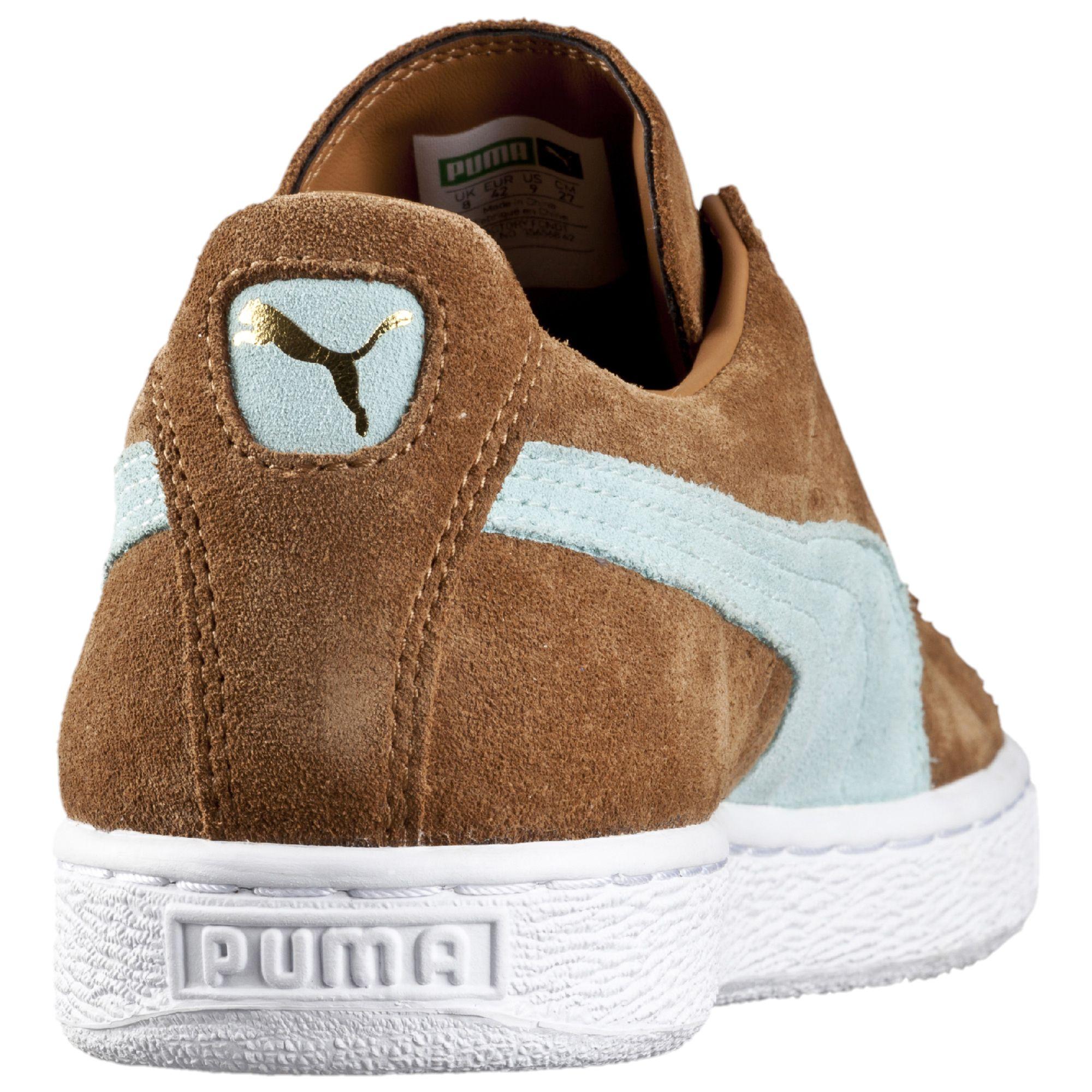 puma suede classic brown