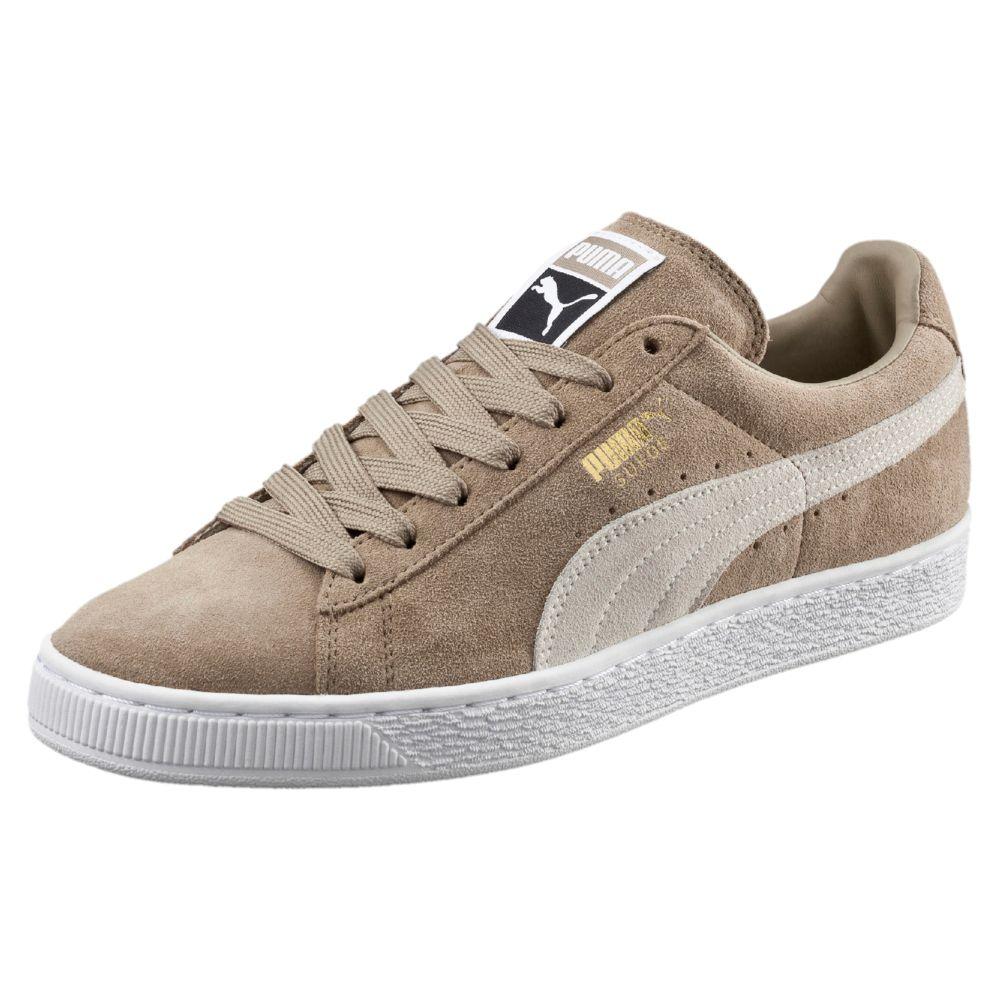 Suede Puma Shoes Tan Men