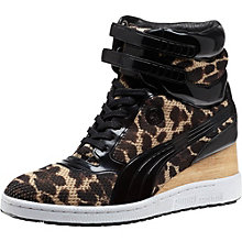 Mihara MY-77 Leopard Women's Wedges