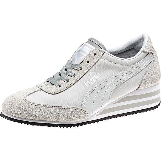 Caroline Stripe Ts Women's Wedge Sneakers