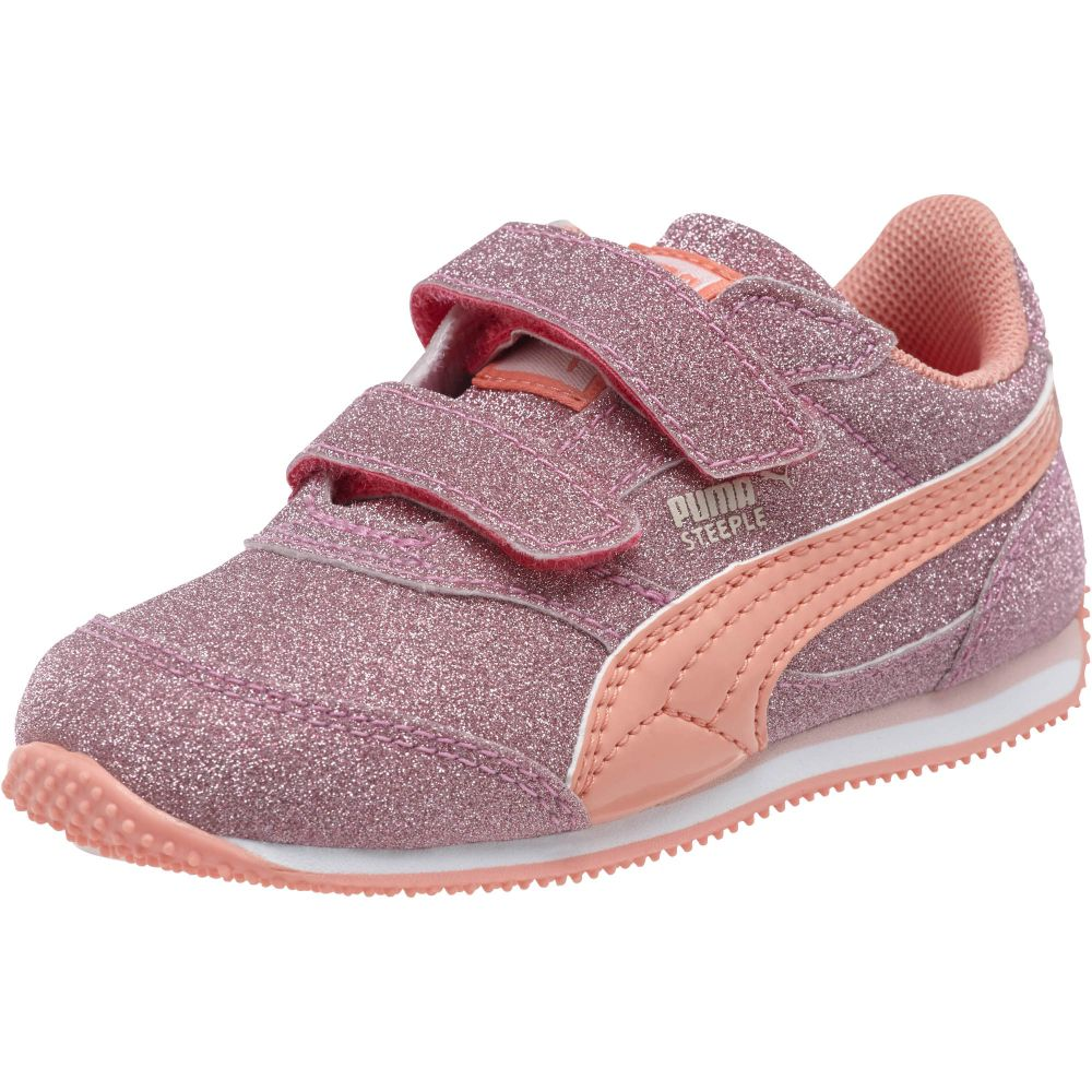 13958d4cd918 PUMA-Steeple-All-Over-Glitter-Kids-Sneakers thumbnail 56