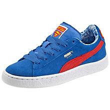 Sneaker Suede Superman bambino