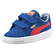 Suede Superman™ Baby Trainers