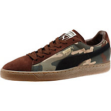 Suede Camo Men's Sneakers