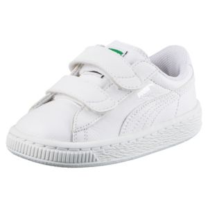 BASKET CLASSIC LEATHER BTS STRAP INFANT TRAINERS