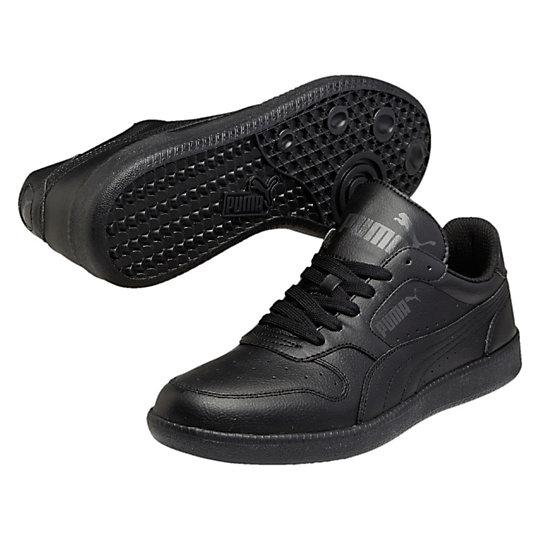 Кроссовки Icra Trainer LКроссовки и кеды<br>Кроссовки Icra Trainer LКроссовки Icra Trainer L от PUMA – это легкость и свобода движения. Функциональные, практичные, удобные, они подходят для городской жизни, активного отдыха и занятий спортом. Дизайн обуви позволяет носить ее под одежду любого стиля. В таких кроссовках вы всегда будете выглядеть модно и стильно и, конечно же, не останетесь незамеченным.Коллекция: Осень-зима 2016Материал верха:  кожаМатериал подошвы:  резинаДышащая текстильная подкладка<br><br>color: черный<br>size RU: 41.5<br>gender: Male