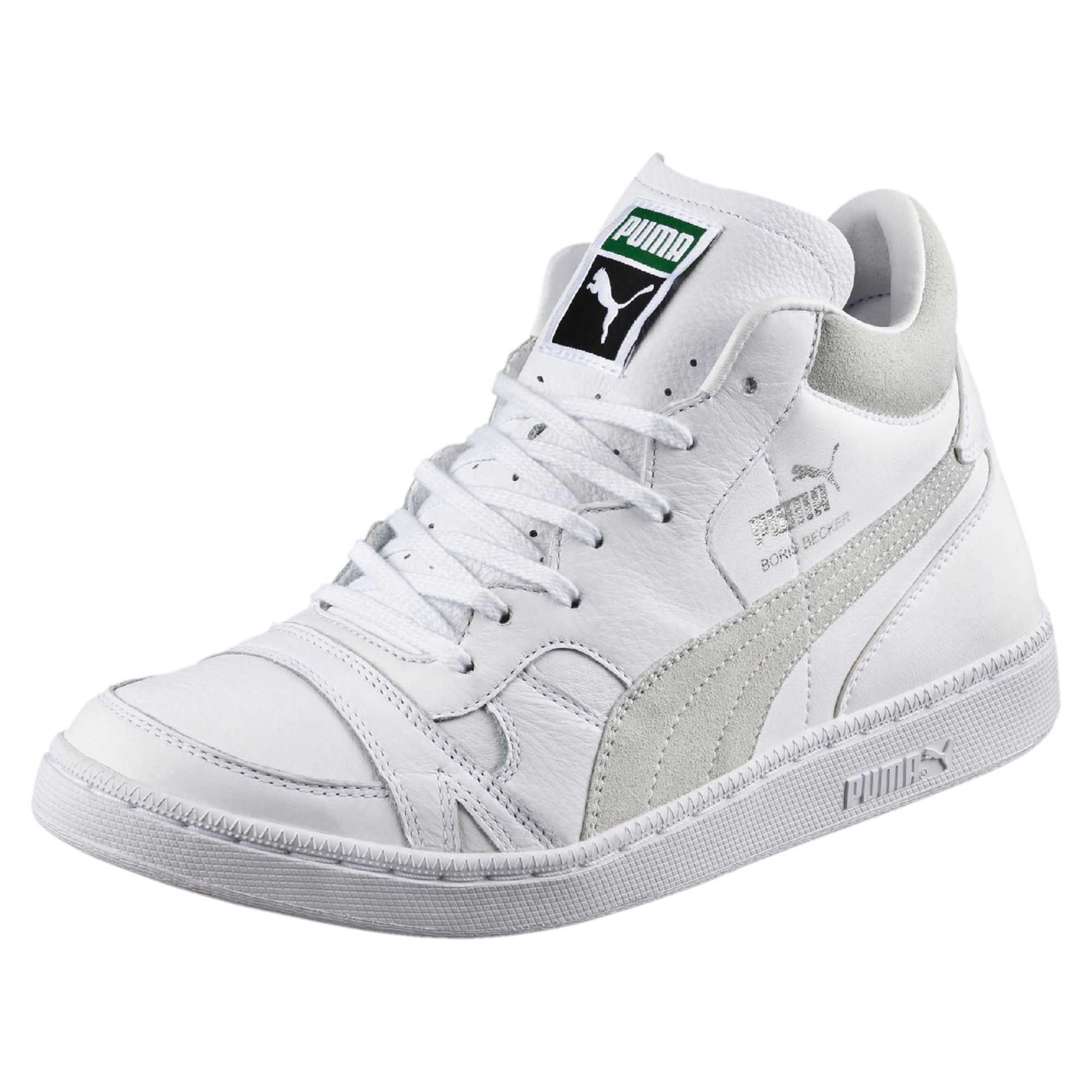 puma boris becker high tops schuhe turnschuhe sportklassiker herren neu ebay. Black Bedroom Furniture Sets. Home Design Ideas