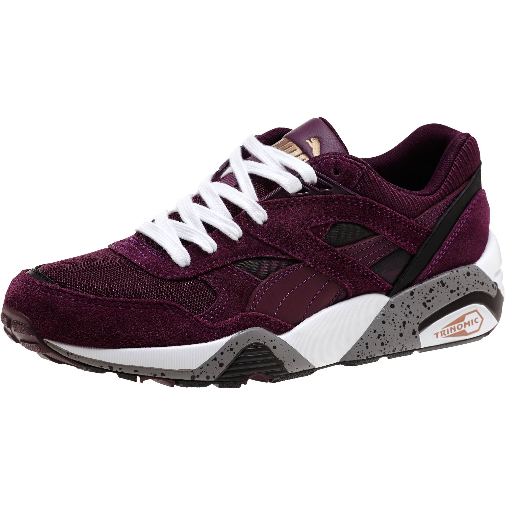 PUMA Womens R698 Fast Graphic Sneakers