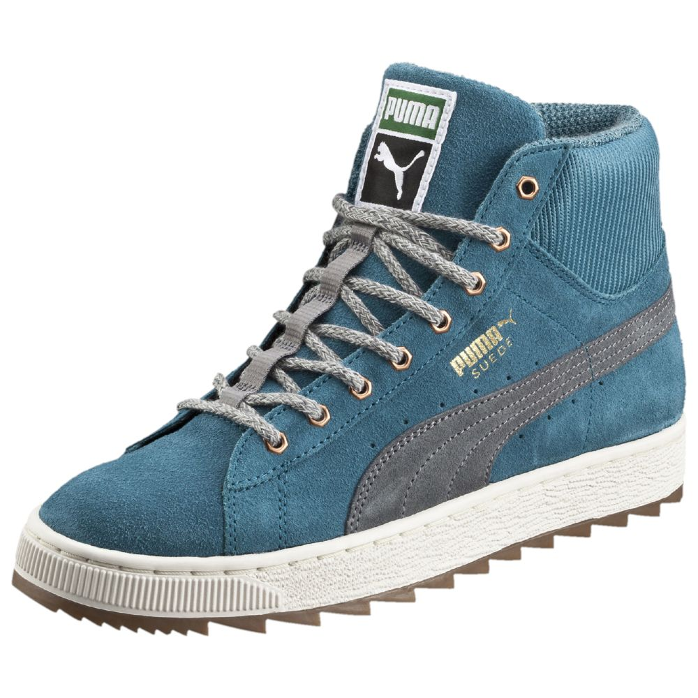 puma suede mid winterized sneakers