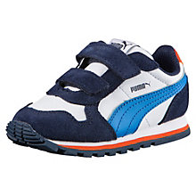 ST Runner Leather V Baby Trainers