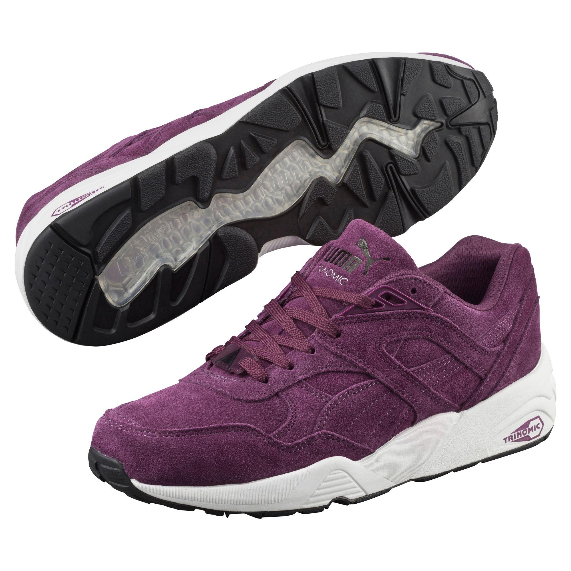 PUMA-Trinomic-R698-All-over-Suede-Trainers-Footwear-