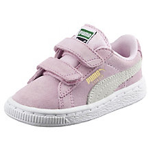 Suede 2 Straps Baby Trainers