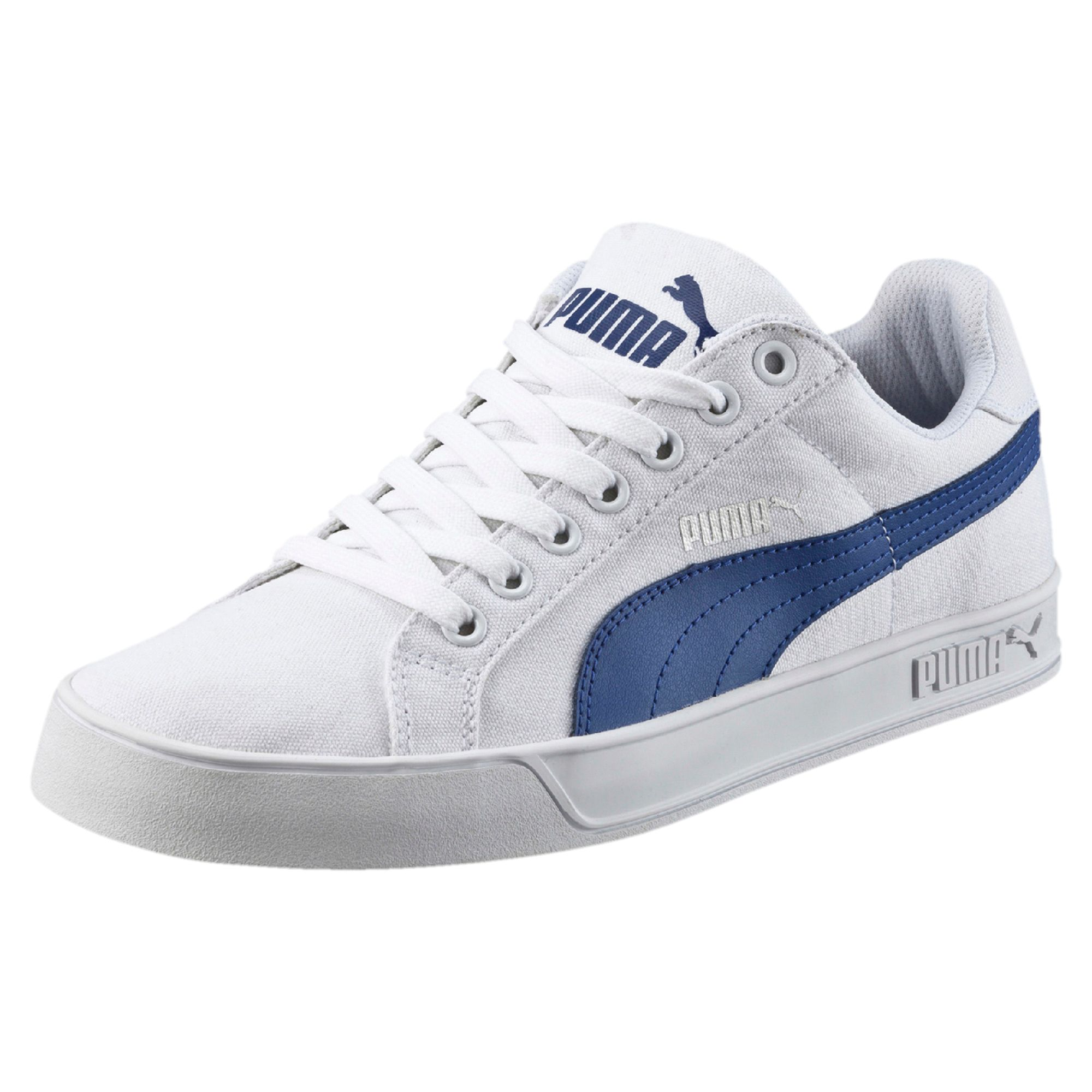 Puma Canvas Shoes White