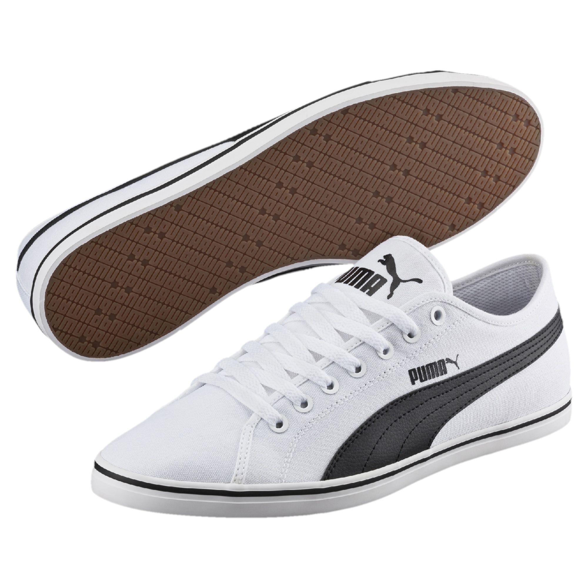 PUMA-Basket-Elsu-v2-Canvas-Unisexe-Chaussures-Basiques-