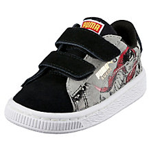 Suede Superman 2 Baby Trainers