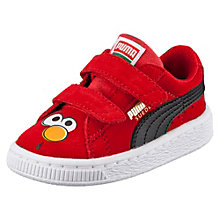 Suede Sesame Street® Elmo Baby Trainers