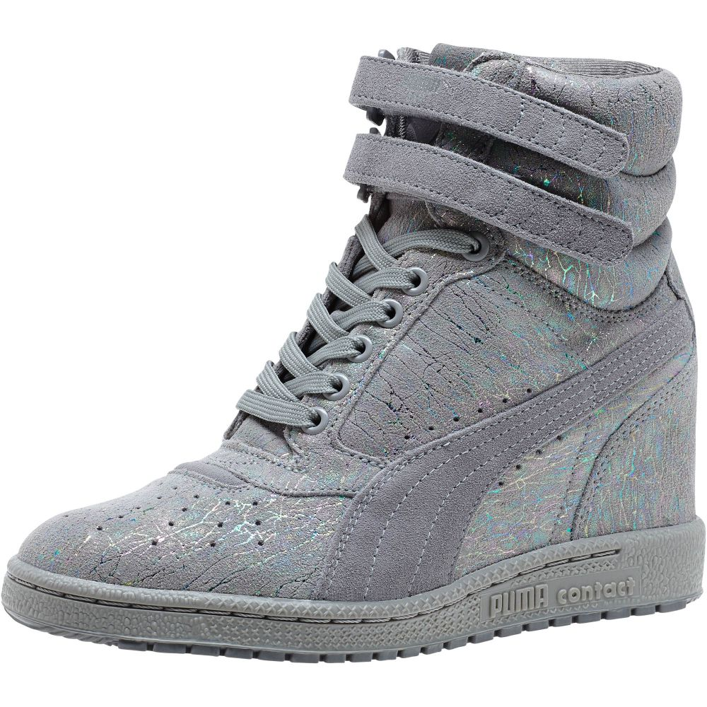 PUMA Sky Iri Suede Women's Wedge Sneakers | eBay
