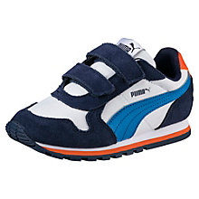 ST Runner Leather V PS Kids' Trainers
