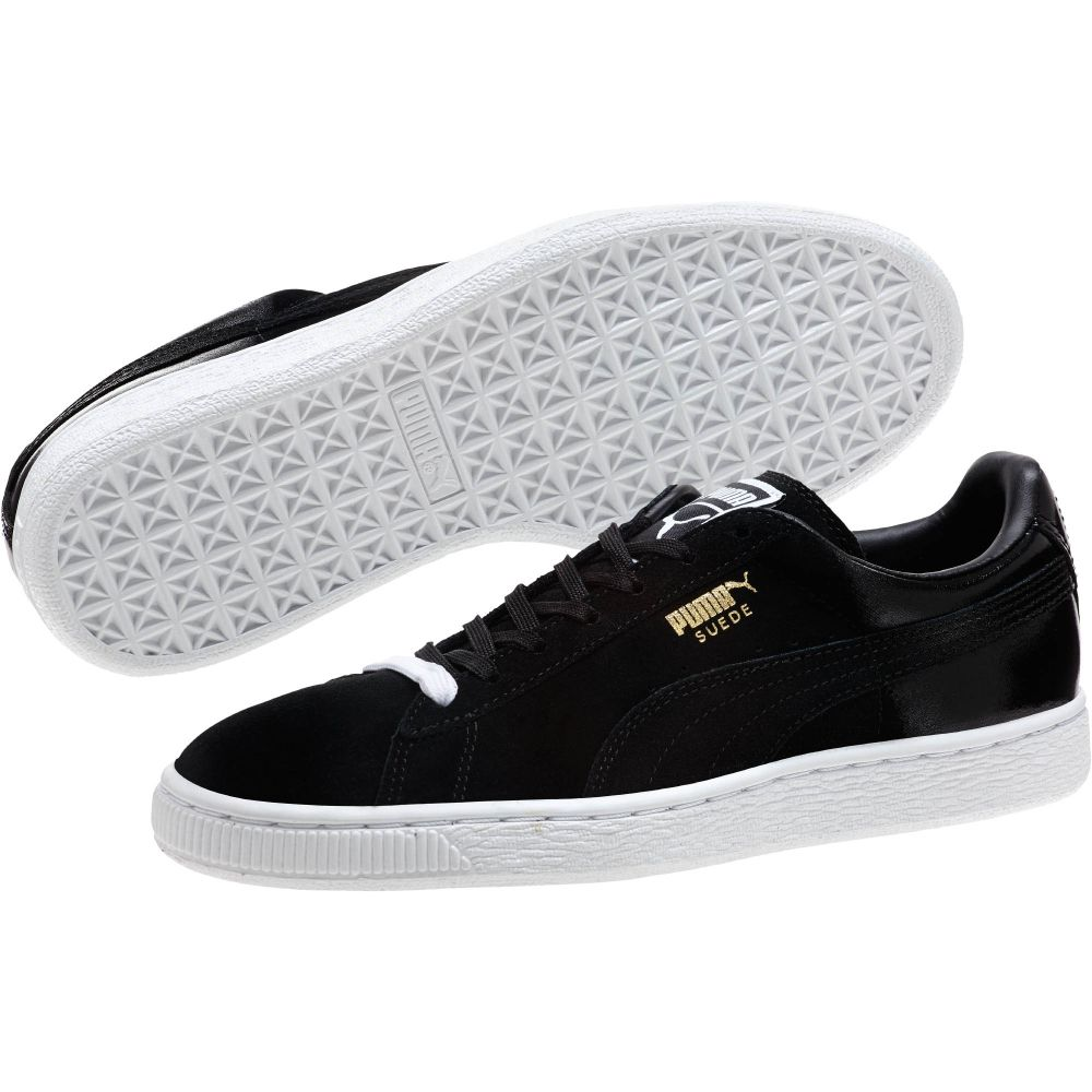 womens black puma suede