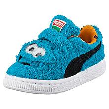 Basket Sesame Street Cookie Monster Baby Trainers