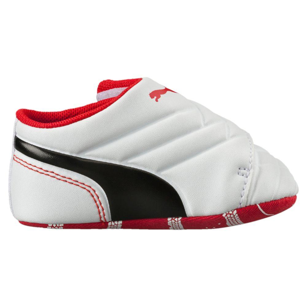 Puma Crib Shoes White