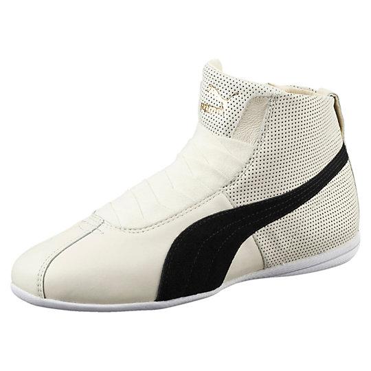 Кроссовки Eskiva Mid WnsКроссовки и кеды<br>Кроссовки Eskiva Mid WnsЭксклюзивная модель из коллекции всемирно известной певицы Рианны. Эти модные женские кроссовки идеально дополнят ваш яркий образ. Разработаны на основе легендарных боксерских кроссовок, выпущенных компанией еще в 60-е годы ХХ века, которые навсегда останутся в истории как обувь, созданная специально для чемпионов и победителей Коллекция: весна-лето 2016 годаКлассическая черно-белая расцветка подойдет к любой одежде и будет гармонично дополнять ваш внешний вид.  Качественный материал, из которого изготовлена модель, невероятно комфортен и практичен в носке. Верх кроссовок, изготовленный из натуральной кожи, идеально подстроится под все особенности ступни.  <br><br>size RU: 37.5<br>gender: Female