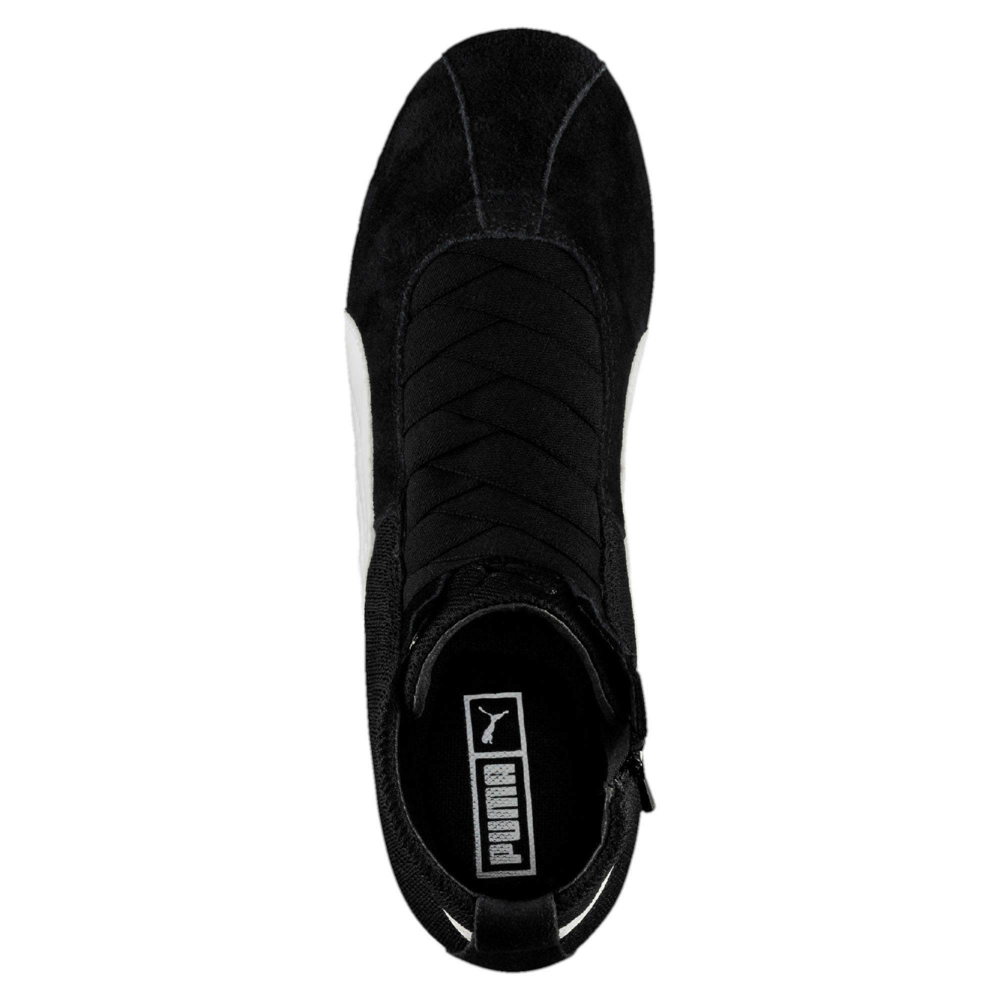 PUMA-Chaussure-montante-Eskiva-Mid-Textured-pour-femme-Bottines-Femmes-Neuf