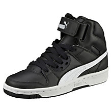 Rebound Street Leather Jr. High Tops