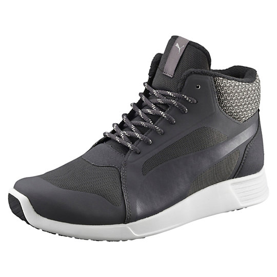 Кроссовки ST Trainer Evo Demi TwillКроссовки и кеды<br>Кроссовки ST Trainer Evo Demi Twill<br>ST Trainer Evo Demi Twill — новая зимняя версия легендарных тренировочных кроссовок. Благодаря манжете из твила, шнуровке, как у туристической обуви, и подкладке они помогут сохранить ваши ноги в тепле. На носке и пятке подошвы имеются резиновые накладки для более надежного сцепления с поверхностью.<br><br>Коллекция: Осень-зима 2016<br>Материал верха: Сетчатый материал<br>Материал подошвы: Резина<br>Вид спорта: Бег<br>Комфортная подкладка защищает от холода<br>Промежуточная подошва EVA для амортизации и комфорта<br>Страна-производитель: Гонконг<br><br><br>size RU: 39.5<br>gender: Male