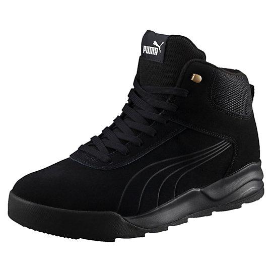 Ботинки Desierto SneakerБотинки<br>Ботинки Desierto Sneaker<br>Новые утепленные ботинки Desierto Sneaker сочетают комфорт спортивной обуви с надежностью туристической обуви. Толстая промежуточная подошва EVA обладает хорошей амортизацией для комфортных прогулок, а выраженный агрессивный протектор — отличным сцеплением с поверхностью.<br><br>Коллекция: Осень-зима 2016<br>Материал верха: Замша<br>Материал подошвы: Резина<br>Мягкая и теплая подкладка<br>Страна-производитель: Тайвань<br><br><br>size RU: 46<br>gender: Male