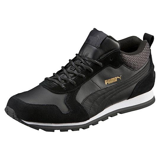 Кроссовки ST Runner Demi TwillКроссовки и кеды<br>Кроссовки ST Runner Demi Twill<br>Новая версия наших легендарных кроссовок ST Runner, дополненная зимними деталями: голенищем из твила, шнуровкой, как у туристической обуви, и подкладкой, защищающей ноги от холода. Подошва, полностью изготовленная из резины, обеспечивает надежное сцепление с поверхностью. Эта обувь станет надежным спутником в холодное время года и впишется в повседневный гардероб.<br><br>Коллекция: Осень-зима 2016<br>Материал верха: Кожа и замша<br>Материал подошвы: Резина<br>Вид спорта: Бег<br>Подкладка сохранит тепло и комфорт ног<br>Страна-производитель: Тайвань<br><br><br>size RU: 41<br>gender: Male